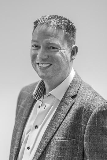 Black and White Photograph of Stefan Wallington