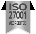 ISO27001 Accreditation Badge